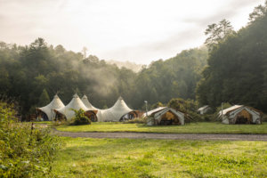 Here's What It's Really Like to Stay in the Smoky Mountains' Most Luxurious Glamping Destination
